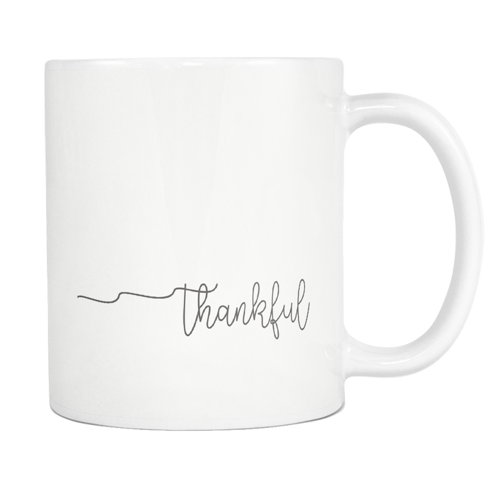 Mug (11oz) Thankful