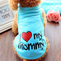 I love My Mommy Mommy T Shirt for Dogs