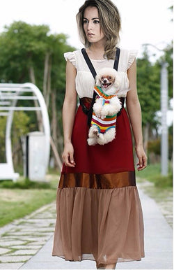 Chest and Backpack Dog  Carrier