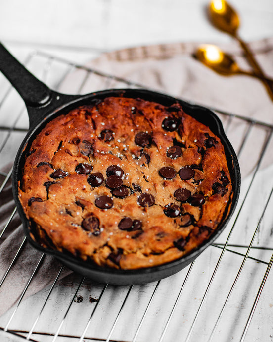 Chickpea Skillet Cookie