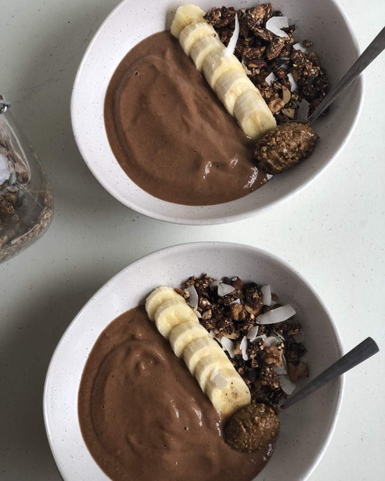 Perky nana smoothie bowl