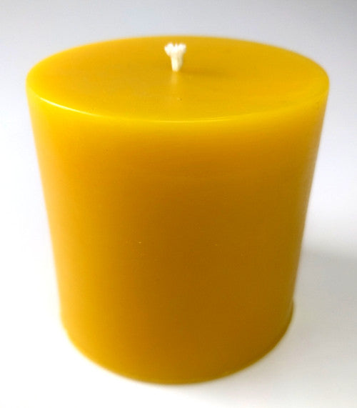 100% Pure Beeswax Pillar Candle