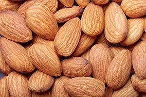 Almonds in the Raw