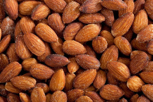 Almonds Roasted with a Pinch of Salt