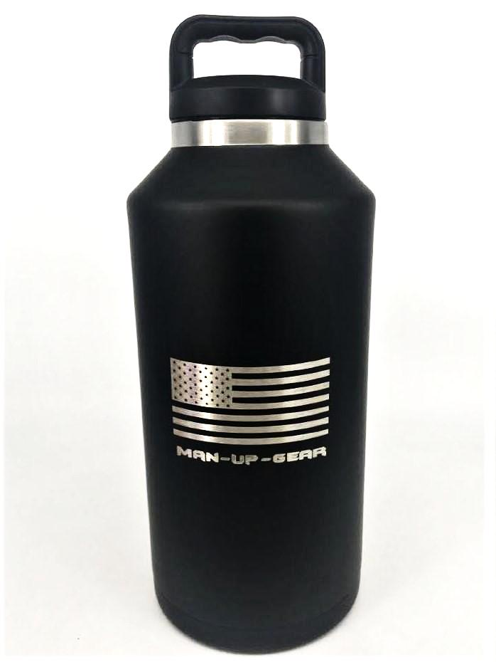 """Man-Up Growler""- Tactical, Insulated and holds 64OZ"