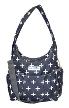 Safe Snuggler Small Diaper Bag - Navy Plus Front View 2