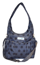 Safe Snuggler Small Diaper Bag - Polka Dot Front View 2