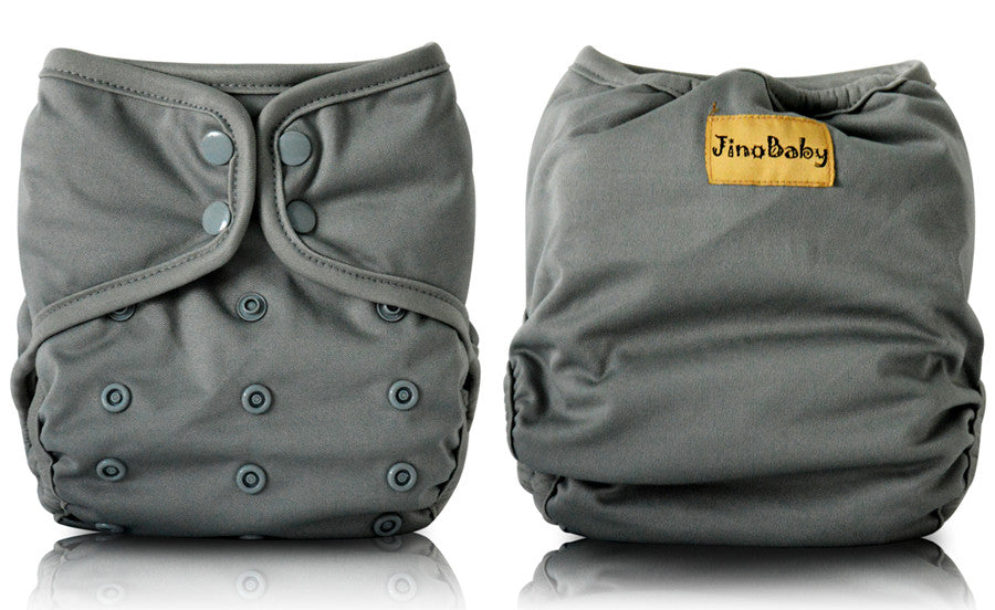 JinoBaby 2.0 Suede Diaper - I Love Plain Color