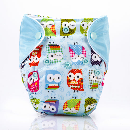 Cute Owl! Superdry Newborn Diapers AIO (For 3KG to 6KG Babies)