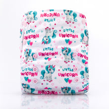 My Unicorn! JinoBaby Bamboo Diapers One Size Fits for Newborn to 13KGS