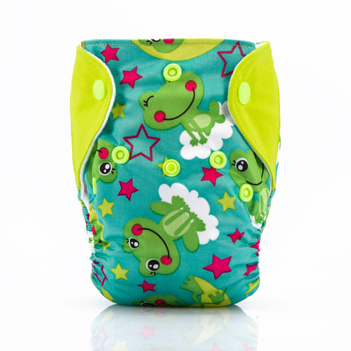Frogs! Superdry Newborn Diapers AIO (For 3KG to 6KG Babies)