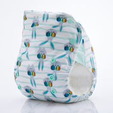 JinoBaby Natural Bamboo Diapers Aio - Cool Bunny