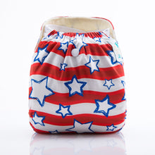 JinoBaby Fitted Cloth Diapers Bamboo - Starry