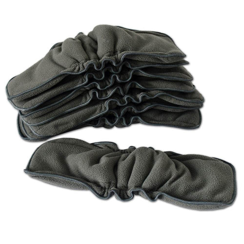 Charocal bamboo reusable diaper soaker pads (Pack of 5)