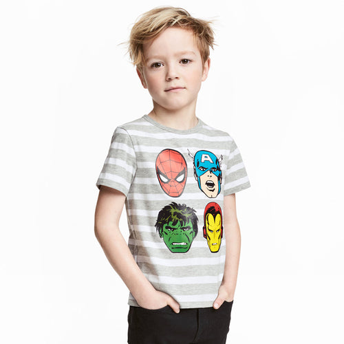 My Hero! Super Cotton Summer Boys Tops tshirt Kids