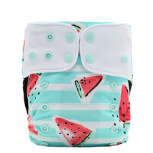 JinoBaby Reusable Diaper Baby Pants Coffee Fabric Diaper Watermelon