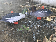 Decoys - Goldeneye Duck Decoy –  Foldable And Collapsible Full Body Decoys (6 Decoys)