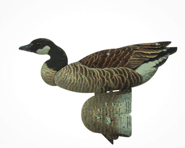 Goose - Lesser Canada Goose Decoy – Foldable And Collapsible Full Body Decoys (6 Decoys)