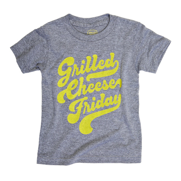 Grilled Cheese Friday Script Kids T-Shirt