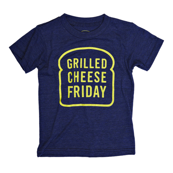 Kids Grilled Cheese Friday Tee