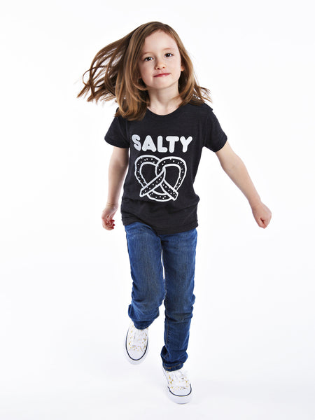 Kids Salty Pretzel Tee