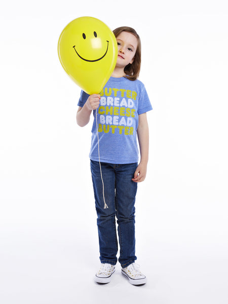 Kids Butter Bread Cheese Tee