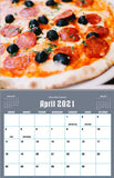 April 2021 Kitchen Hobby Calendar
