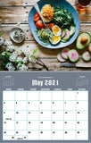 May 2021 Kitchen Hobby Calendar