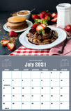 July 2021 Kitchen Hobby Calendar