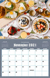November 2021 Kitchen Hobby Calendar