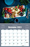 December 2021 Kitchen Hobby Calendar