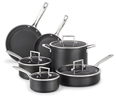 KitchenAid  Professional Hard Anodized Nonstick 10-Piece Cookware Set