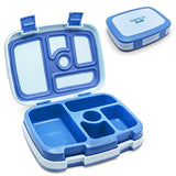 Bento-styled Childrens Lunch Box - Blue, Green or Purple