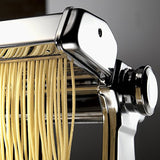 Marcato Atlas Pasta Machine, Stainless Steel, Silver, Includes Pasta Cutter, Hand Crank, and Instructions