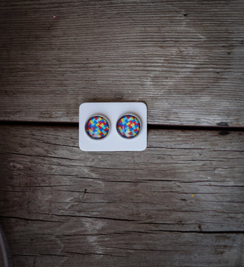 autism awareness 12mm earring