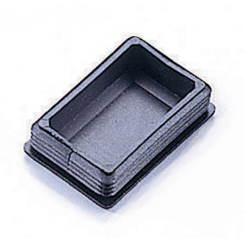 "Plastic End Cap 3"" x 2"" OD w/ Bellows"