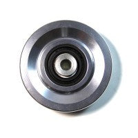 "Aluminum Pulley: 3.5"" with a 1"" Hub x 3/8"" Bore"
