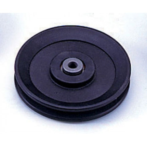 "Pulley - 4 1/2"" x 1"" x 3/8"" Steel Bore"