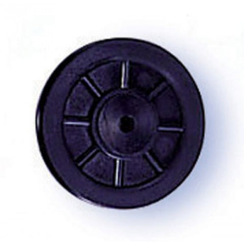 "PVC Pulley - 4"" x 3/4"" x 3/8"" Bore"