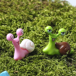 sassy snails for your fairy garden