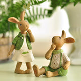 3.5 inch bunny figurines