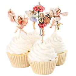 Flower Fairy Cupcake Toppers (24 pack)