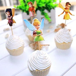 tinker bell cupcake toppers