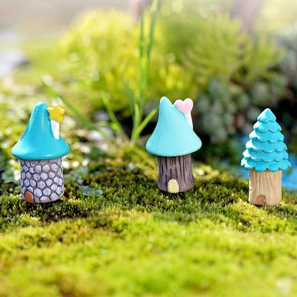 ice cream fairy houses