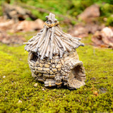 wood and stone fairy cottage