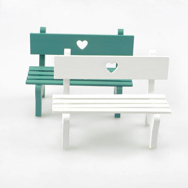 Garden Love Wooden Bench