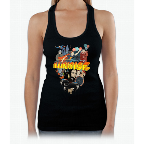 Come on! Feel the Illinoise! Womens Tank Top