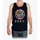 Drink Around the World - EPCOT Checklist v1 - Mens Tank Top