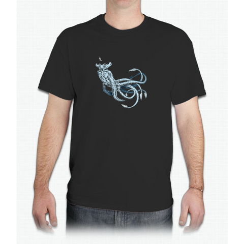 Sea Emperor Transparent - Mens T-Shirt