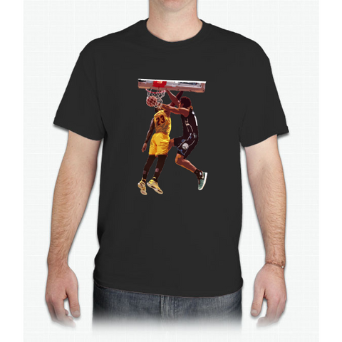 Malcolm Brogdon Dunk on LeBron James - Mens T-Shirt
